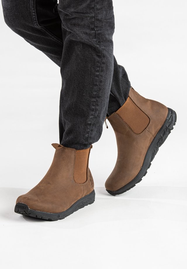 WANDER W MICHELIN WIC - Ankle boots - coffee