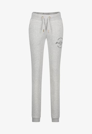 APPLIQUE JOGGERS - Tracksuit bottoms - grey