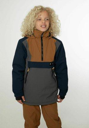 ANORAK ISAACT JR - Snowboard jacket - huntergreen