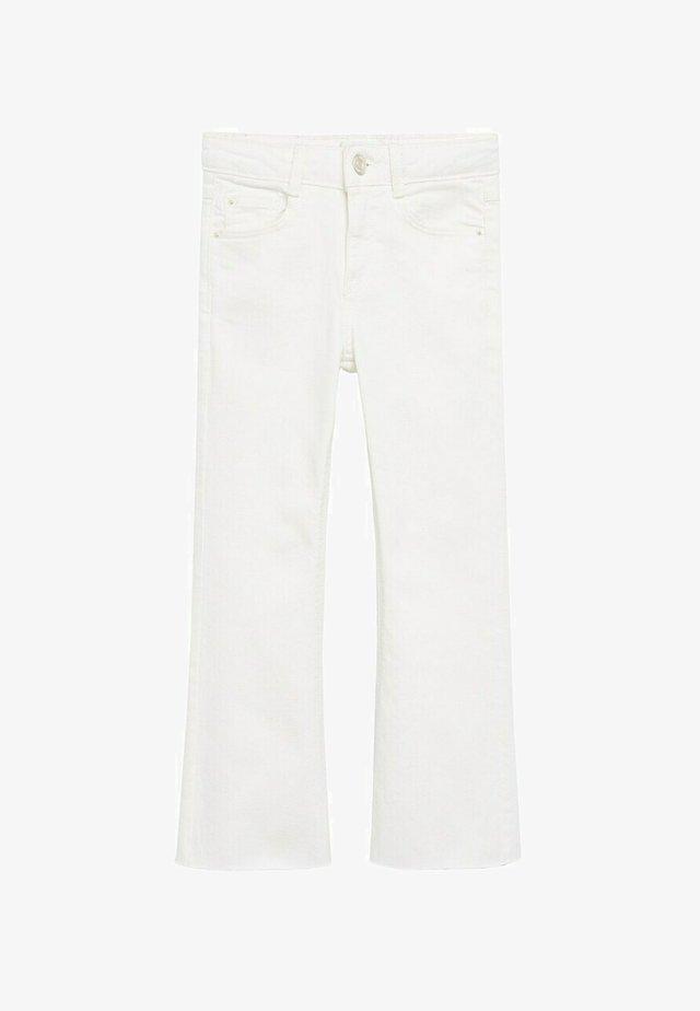 Jeans a zampa - wit