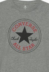 Converse - CHUCK PATCH LONG SLEEVE TEE UNISEX - Topper langermet - grey - 2