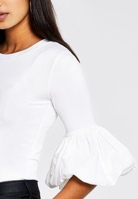 River Island - Long sleeved top - white - 3