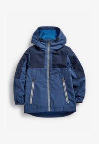Next - Waterproof jacket - blue - 1