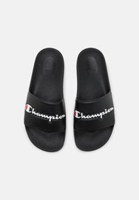 Champion - SLIDE VARSITY 2.0  - Chanclas de baño - black - 3
