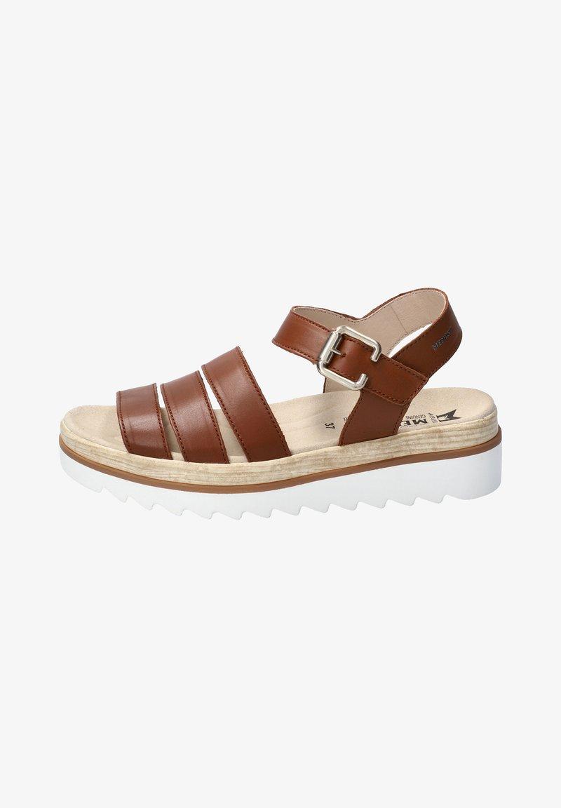 Mephisto - Wedge sandals - braun