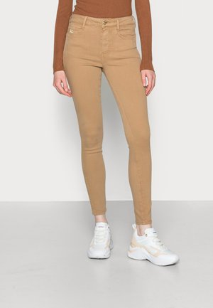ICON HARLEM SKINNY - Jeans Skinny Fit - khaki