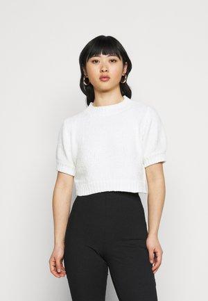CHENILLE  - Print T-shirt - white