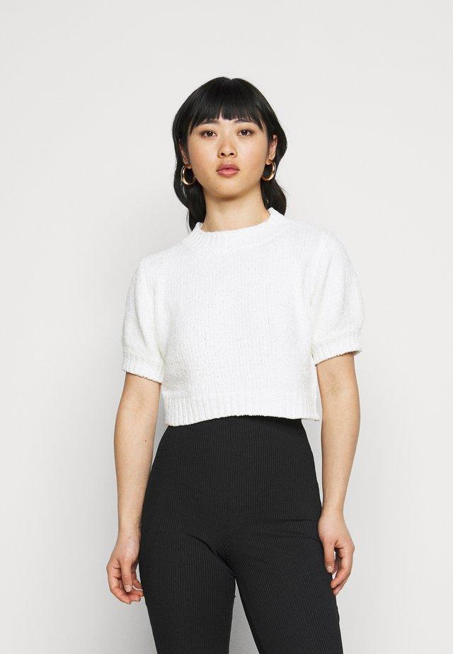 CHENILLE  - T-shirt imprimé - white