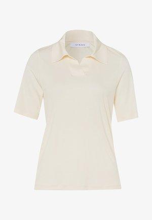 KAMÉE - Polo shirt - vanilla cream