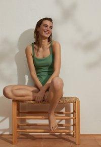 OYSHO - Swimsuit - green - 4