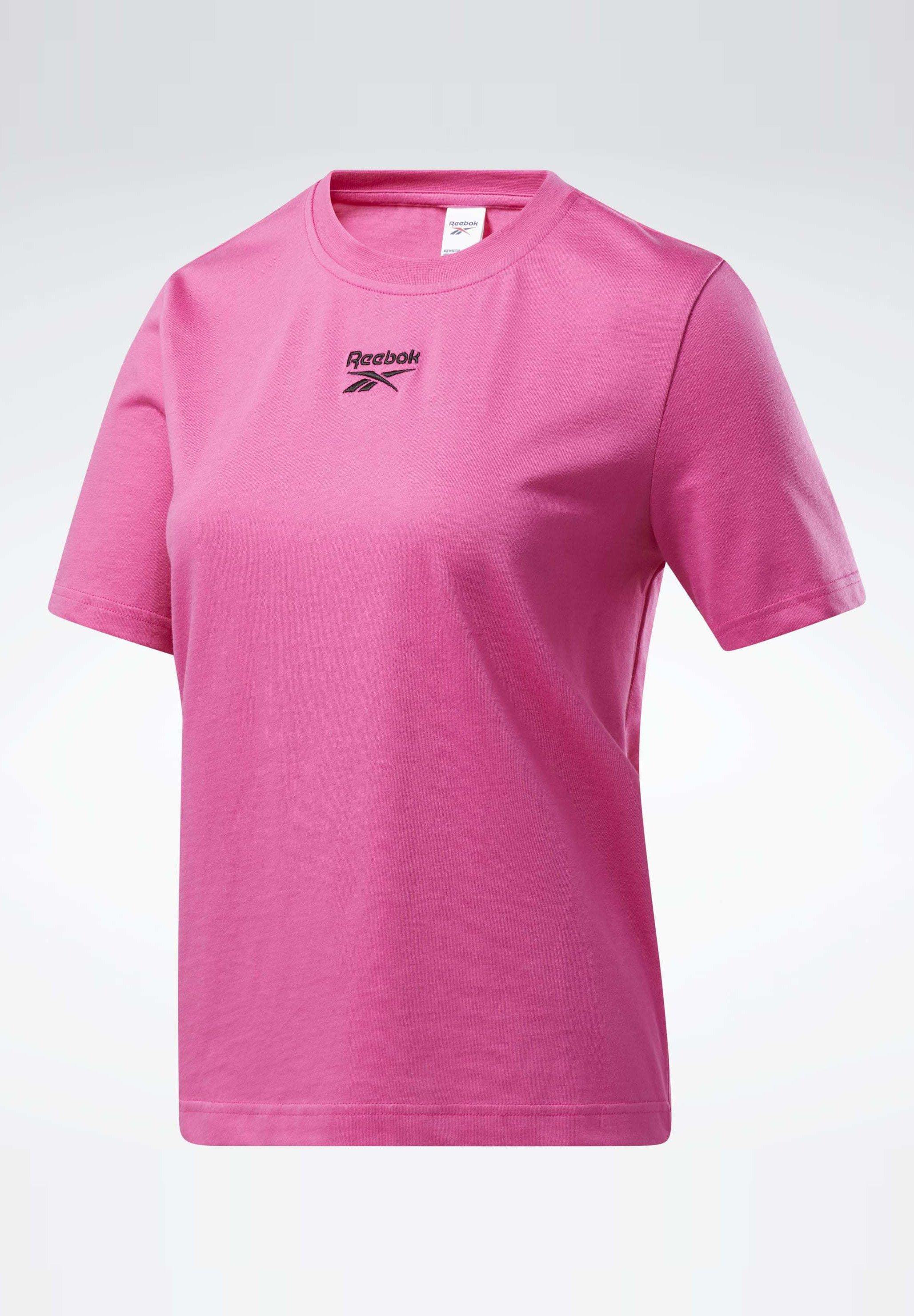 Reebok Classic T-shirts Med Print - Pink/rosa