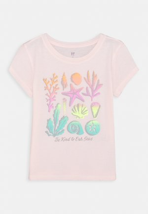 GIRLS - Print T-shirt - pink blush