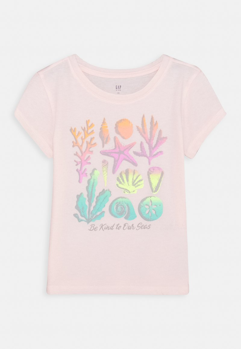 GAP - GIRLS - Print T-shirt - pink blush