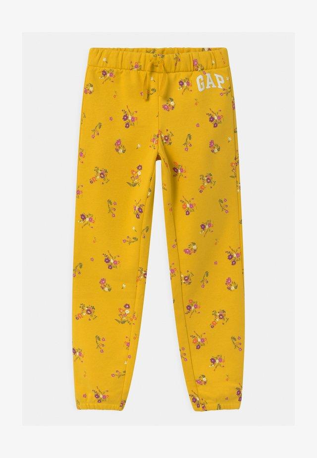 GIRL LOGO - Teplákové kalhoty - rainslicker yellow