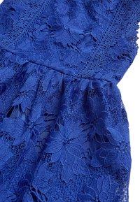 Next - COBALT BLUE LACE DRESS  - Freizeitkleid - blue - 2