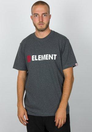 BLAZIN - Print T-shirt - charcoal