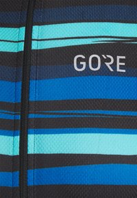 Gore Wear - SAVANA MENS - T-Shirt print - black/blue - 2