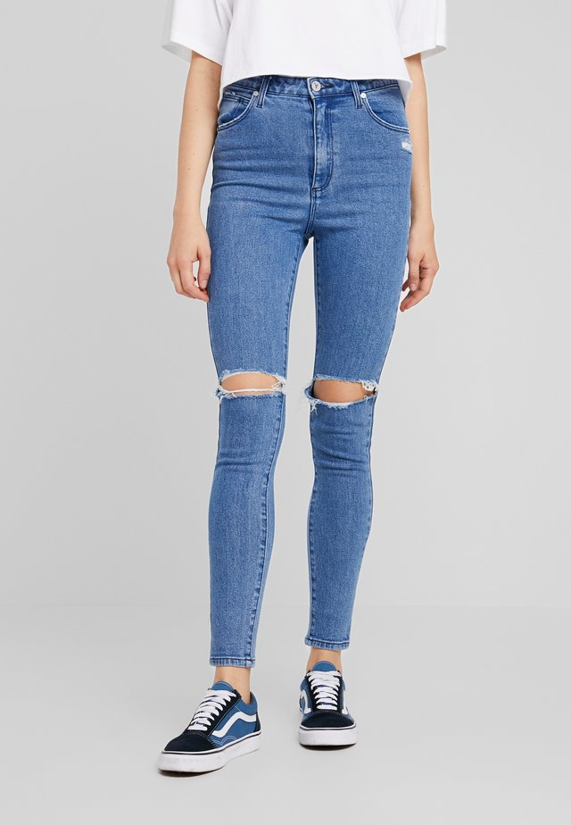 HIGH ANKLE BASHER - Jeansy Skinny Fit - dream on