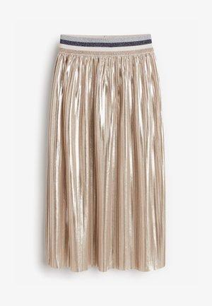 Plisovaná sukně - silver