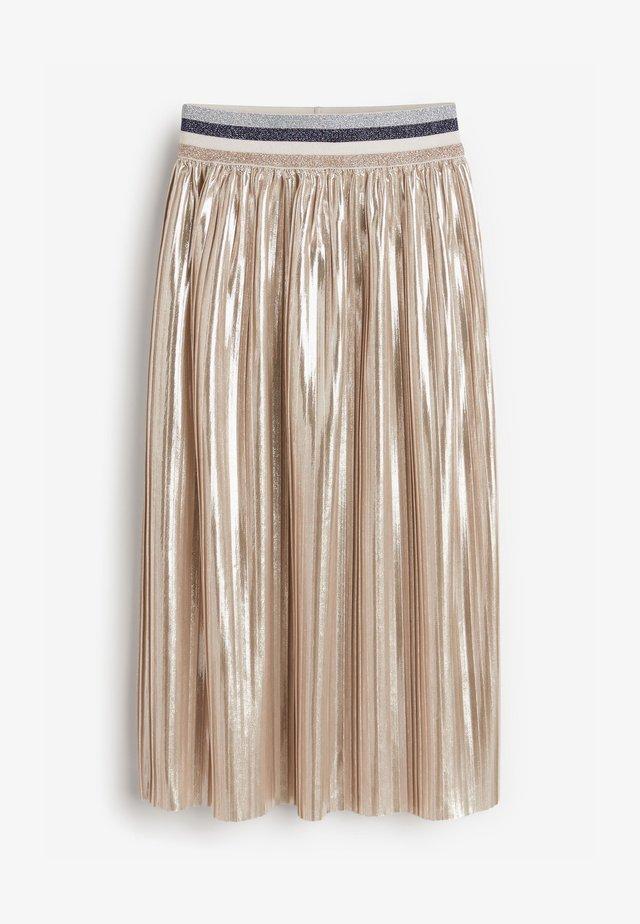 Jupe plissée - silver