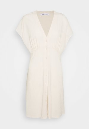 VALERIE SHORT DRESS - Skjortekjole - warm white