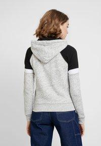 Hollister Co. - CORE - Zip-up hoodie - heather grey - 2