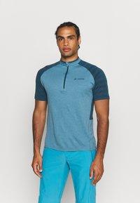 Vaude - TAMARO - Print T-shirt - blue gray - 0
