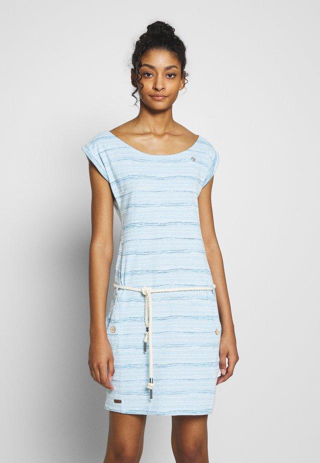 TAG SEA - Jersey dress - blue
