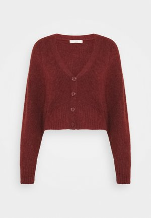 TILLY CARDIGAN - Strikjakke /Cardigans - fired brick