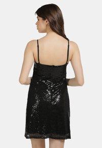 myMo at night - PAILLETTENKLEID - Cocktail dress / Party dress - schwarz - 2
