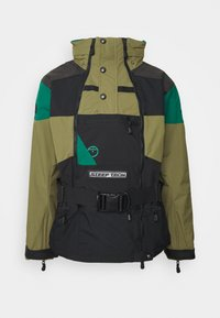 The North Face - STEEP TECH APOGEE JACKET - Wiatrówka - burnt olive green/evergreen/black - 0