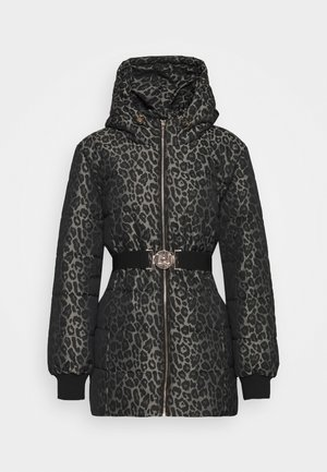 IMBOTTITO OVATT CORTO - Winter coat - titanium/nero