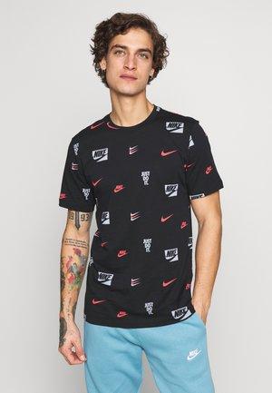 CORE AOP TEE - T-shirt imprimé - black