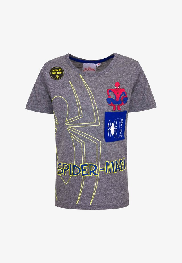 MARVEL SPIDER-MAN - Print T-shirt - grau