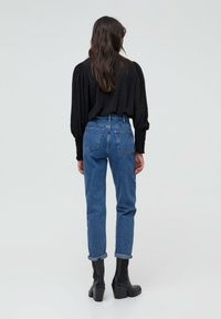 PULL&BEAR - MOM - Jeans baggy - blue - 2