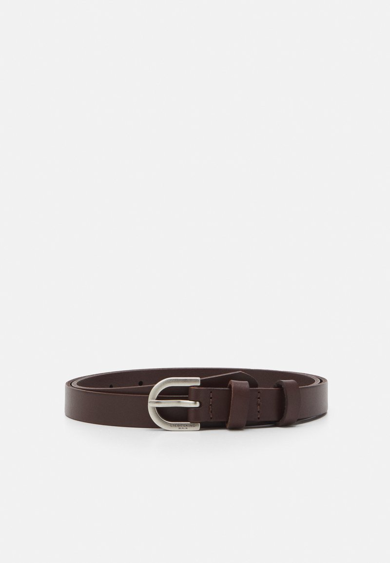 Liebeskind Berlin - BELT BELTVA - Belt - walnut
