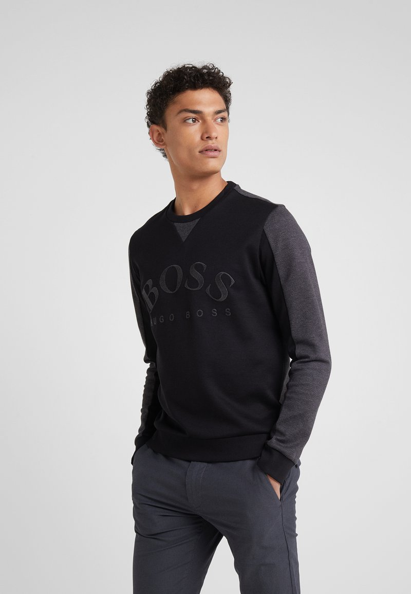 BOSS - SALBO 10217264 01 - Sweatshirt - black