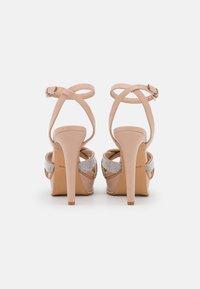 ALDO - ADREDITH - Platform sandals - bone - 3