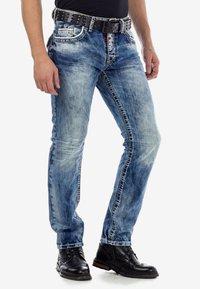 Cipo & Baxx - Slim fit jeans - ijsblauw - 3
