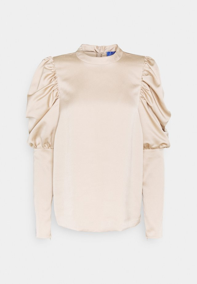 BLOUSE - Blouse - toasted almond