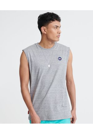 Top - collective dark grey grit