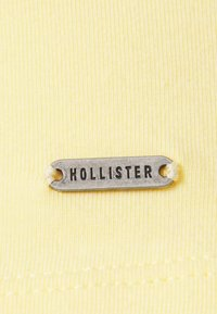 Hollister Co. - STRAPPY WRAP TANK - Top - yellow - 2