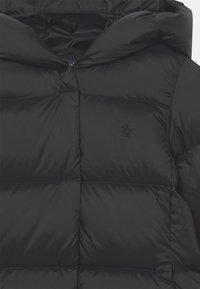 Polo Ralph Lauren - LONG OUTERWEAR COAT - Down coat - polo black - 2