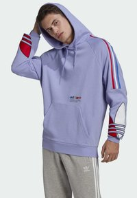 adidas Originals - ADICOLOR - Hoodie - purple - 0