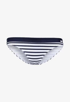 Bikini bottoms - white/navy