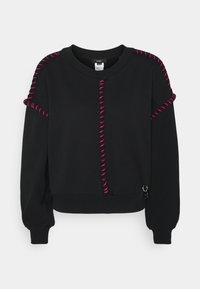 Diesel - F-TWISTER SWEAT-SHIRT - Sweater - black - 0