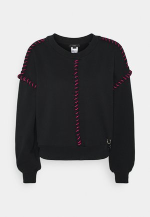 F-TWISTER SWEAT-SHIRT - Sweatshirt - black