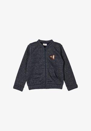 VESTE - Sweater met rits - dark blue melange