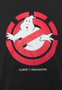 Element - GHOSTBUSTERS X ELEMENT GHOSTLY - Print T-shirt - flint black - 2