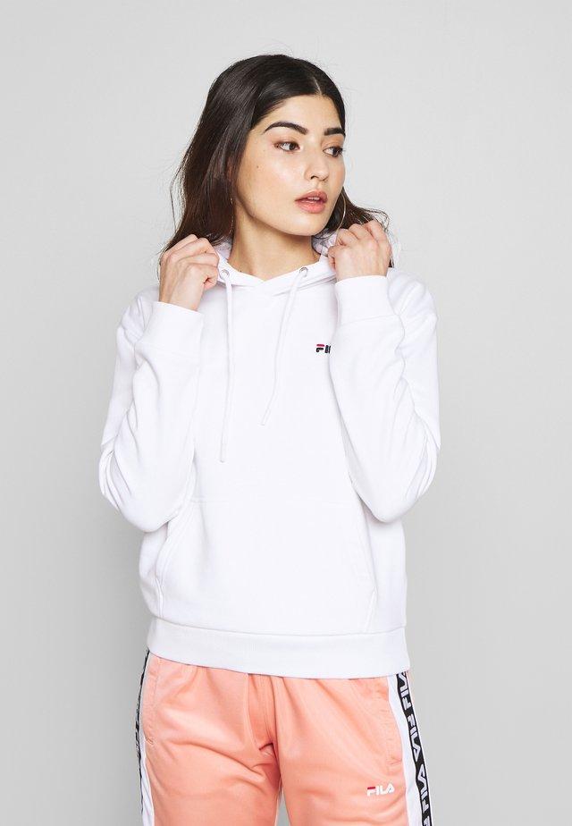 EBBAHOODY - Hoodie - bright white